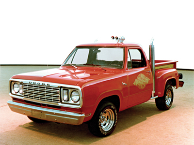 Dodge Lil Red Express Truck Parts